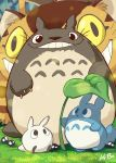 Studio Ghibli: My Neighbor Totoro Art Card by kevinbolk