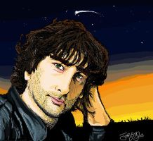 Neil Richard Gaiman by Jerridiot