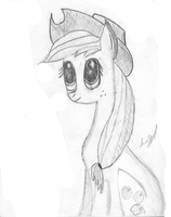 AJ Sketch (Semi WIP) by usernameirrelevant