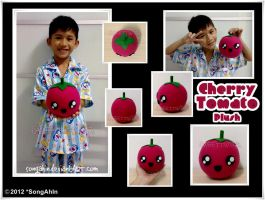 Cherry Tomato Plush by SongAhIn