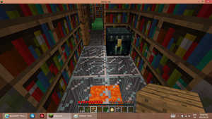 Library entrance room by ComputerDragon