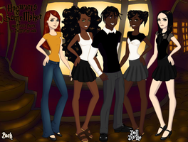 Rhodey and His Girls Dress Up 2 by Finny-KunGoddess