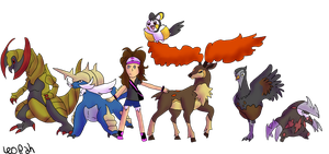 Pokemon Black Team by LackadaisicalLeopah