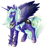 MLP AU - Crescent (COM) by Naughty-Savage
