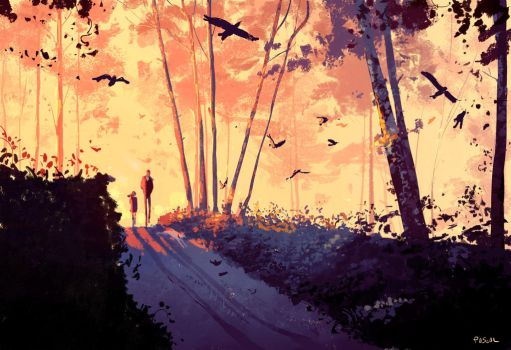 Early weekend. by PascalCampion