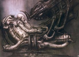 H. R. Giger XX by CamillOnline