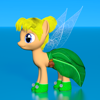 My Little Fairies - Tinkerbell by VeryOldBrony