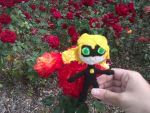 Chat Noir loves red roses by Aliana-chan