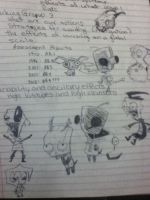 Invader Zim mostly by thisiscray