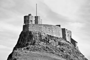 Lindisfarne Castle V by scribbleXcore