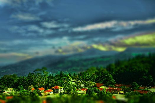 town in the junggle by PonoPPhotograPh