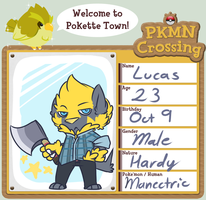 PKMN Crossing App by Kuromitu