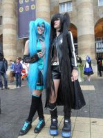 Connichi 2013 - Miku + BRS by Moeker