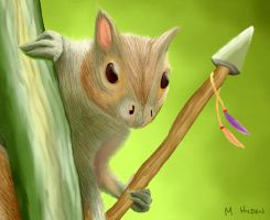Magic The Gathering Squirrel by mhyden