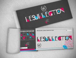 Resurrection's ticket by BayuWiranagara