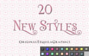 20 New Styles!! by OriginalTequila