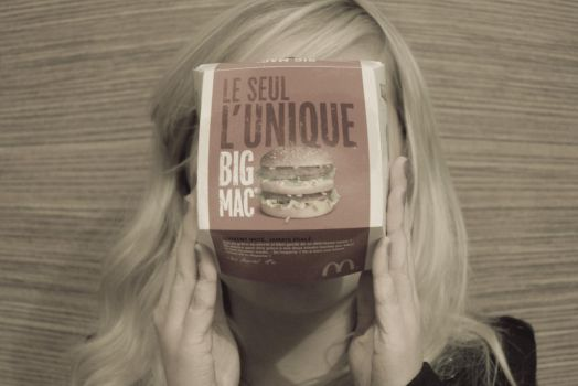 AHAHAAA MC DONALDS COUGHT ME by letterto-e