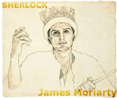 James Moriarty2 by 403shiomi