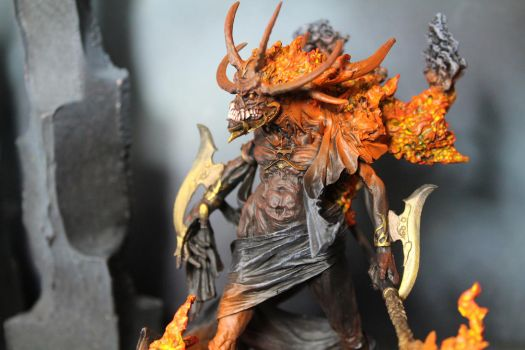 Fire Lord Incarnate by IgenSTilch