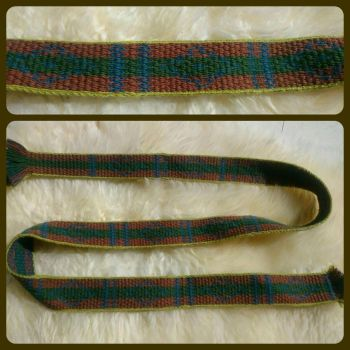 tablet-woven belt Hochdorf in sulawesi by Tjeika
