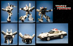 Prowl's Transformation Sequence by PlasticSparkPhotos