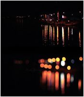 Lights on the lake by LaZiaIla