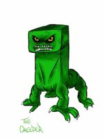 Creeper Drawing on Ipad by Asten-94