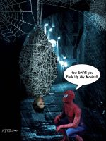 Spiderman Revenge by abazou