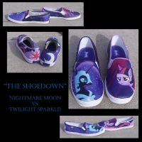 The Shoedown by WingedKitty