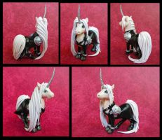 Sephiroth Unicorn by DragonsAndBeasties