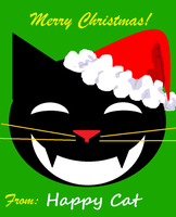Happy Cat - Christmas by Nakumah