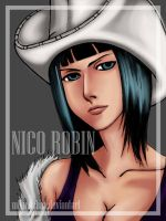 AT - Nico Robin by miku-dchan