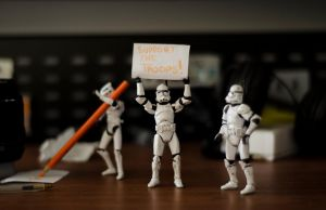 Clone troopers: support the troops by abomontage