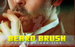 MY BEARD BRUSH (digital painting) + FREE DOWNLOAD by marinamaral