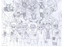DIGIMON!!! by Omnimon1996