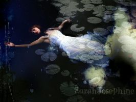 Ophelia in Moonlight by SarahJosephine