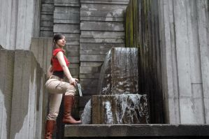Chloe Frazer Waterfall by Angel-Platypus-Photo