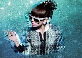 Simpe CL wallpaper (2ne1) 3 by louisebin
