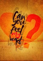 can you feel my heart by leavedesign