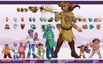 Gem Vale Height Chart I by ErinPtah
