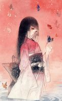 butterfly by Orzushii