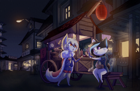 A Night Out by ClockworkSheep