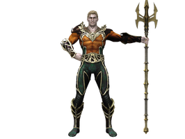 Injustice Aquaman by dirtscan