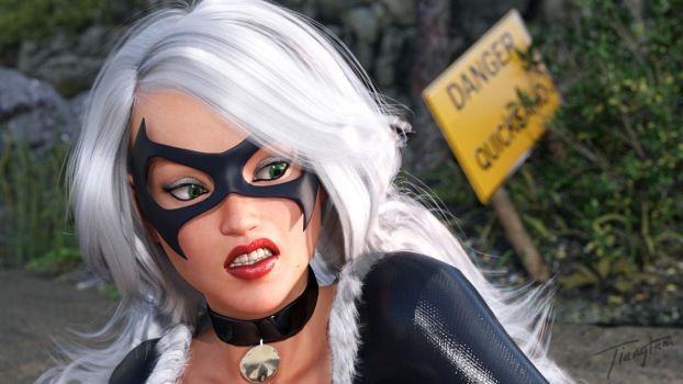 Black Cat Quicksand 8 Preview by tiangtam