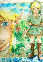 Commish: Link of Zelda by winterlaced