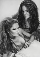 Cheryl and Kimberley by Charlzton