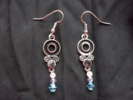 deco jewel earring by Darla-Illara