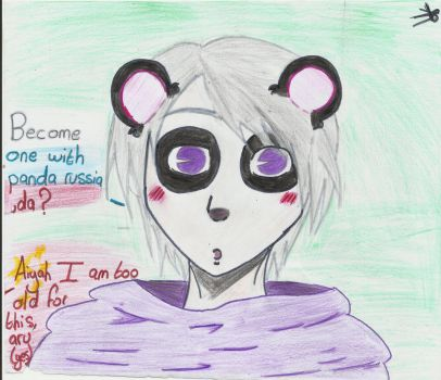 Become one with Panda!Russia? by 3alyo0o