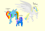 collab whit my friends by Color-dream-pony