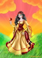 The Cursed Apple by Paola-Tosca